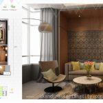 Denah Apartemen Skandinavia Tangcity 2 BR Top Level