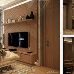Design Apartemen Skandinavia Tangcity 2 BR