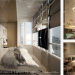 Design Apartemen Skandinavia Tangcity 2 BR Deluxe