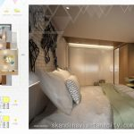 Denah Apartemen Skandinavia Tangcity 3 BR Corner
