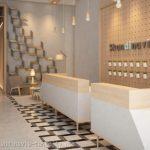 Lobby Apartemen Skandinavia Tangcity