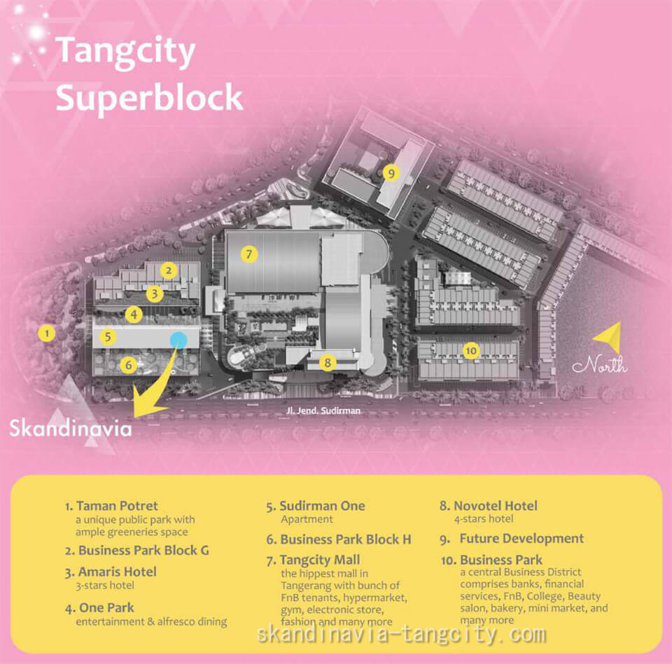 Master Plan Tangcity Superblock